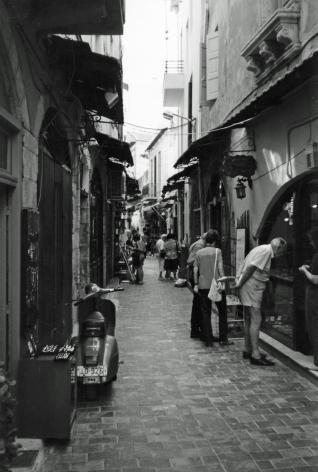 Leather alley, Chania, Crete, Greece