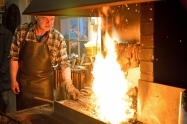 In der Schmiede - At the forge