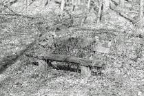 Hidden bench - Versteckte Bank